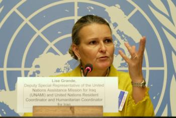 The UN's Lise Grande said that the worst case scenario for displacement from Mosul was 700,000 people; in fact, 900,000 fled the city.