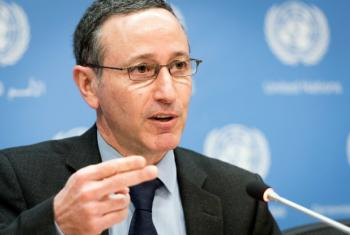 Robert Glasser, Special Representative of the Secretary-General for Disaster Risk Reduction and head of UNISDR.