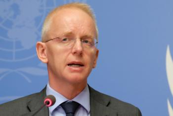 UN Refugee Agency spokesperson Adrian Edwards urged an open-border policy for people fleeing violence in Rakhine state.