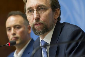 UN Human Rights Chief Zeid Ra'ad Hussein, who said that policies pursued by Venezuela's government had been at the cost of citizens' rights and freedoms.