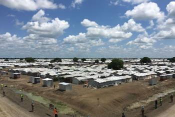 Bentiu Protection of Civilians site, in the north of South Sudan, which is home to more than 115,000.