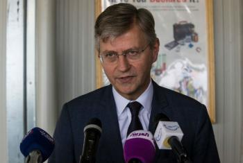 The UN under-secretary-general for peacekeeping operations, Jean-Pierre Lacroix on Tuesday kicked off his visit to South Sudan.
