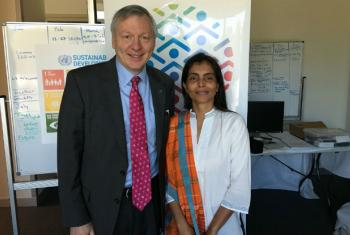 UNIC Canberra Director and UNESCO Pacific Representative Ms Nisha.