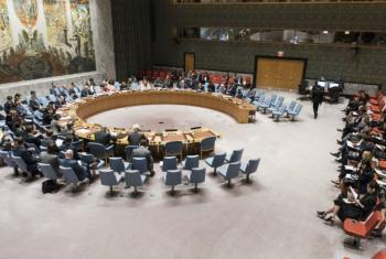 A wide view of the Security Council meeting during which it issued a Presidential Statement on the recent launch of ballistic missiles by the Democratic People's Republic of Korea (DPRK).