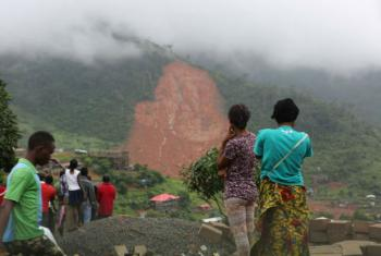 Hundreds are reported dead with many more missing after mudslides and floods tore through several communities in Freetown, Sierra Leone.
