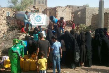 Yemen's cholera epidemic has spread rapidly due to deteriorating hygiene and sanitation conditions, and disruptions to the water supply.