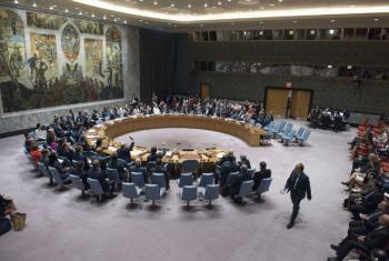 Security Council votes on resolution to establish an investigative team to look into alleged crimes by ISIL in Iraq.