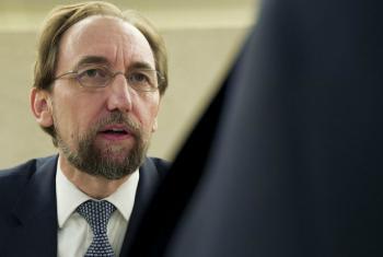 Zeid Ra'ad Al Hussein, United Nations, High Commissioner for Human Rights at the 36th session of the Human Rights Council.