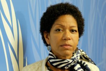 UN Worker Sylvie Castonguay in Geneva.