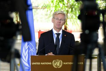UN Special Adviser Jan Egeland said that millions of people live in areas not protected by a ceasefire agreements and remain at risk of attack.