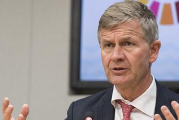 Erik Solheim, Executive Director of the UN Environment Programme (UNEP). (file)
