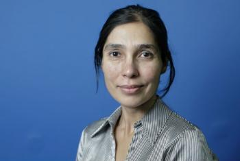 Fiona Bayat-Renoux, leader of innovation at UN Women.