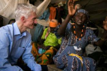 United Nations Under-Secretary-General for Humanitarian Affairs and Emergency Relief Coordinator, Mark Lowcock, visiting Nigeria.