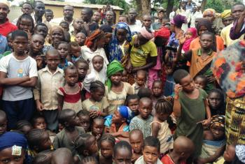 Internally displaced people in CAR (file)