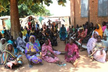 Lokoloko IDP Camp, Wau in north-western South Sudan.