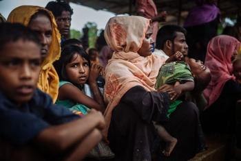 Rohingya Refugees in Cox's Bazaar, Bangladesh.