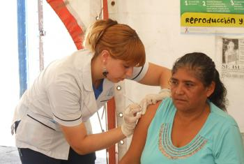 Immunization against Hepatitis B in Argentina.