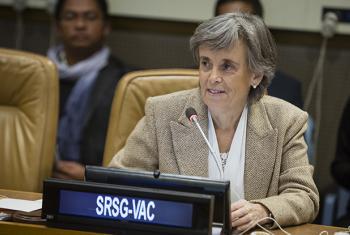 Marta Santos Pais, the UN Special Representative of the Secretary-General on Violence against Children.