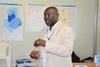 Vincent Lelei, Deputy Humanitarian Coordinator for Somalia.