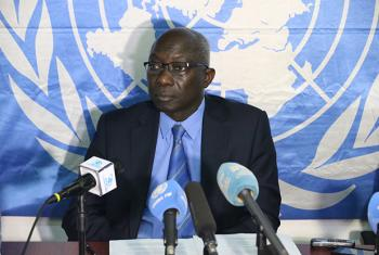 Adama Dieng, UN Special Adviser on the Prevention of Genocide, at the press conference on Wednesday.