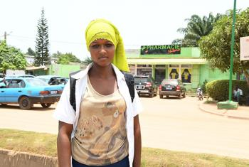 14 year old Sidibe Rokiatou, from Côte d'Ivoire, dreams of becoming a pharmacist. Her dream is possible now because she's in school, but a year ago, she was close to ending up in a forced marriage. © UNICEF/UN061441/Dejongh
