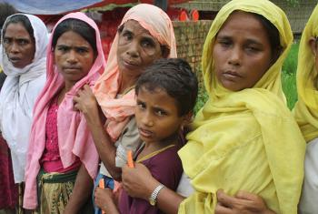 Rohingya civilians from Myanmar's Rakhine State have fled to Bangladesh by the tens of thousands.