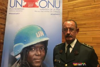 Major General Jean-Paul Deconinck, Force Commander at the UN mission in Mali, MINUSMA.