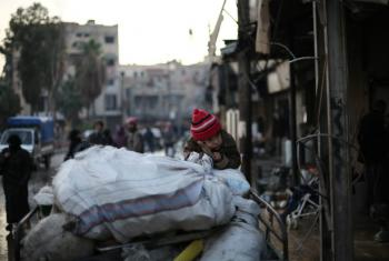 "Civilians in Eastern Ghouta on the outskirts of Damascus are facing ""nightmarish"" conditions amid ongoing fighting between the government and opposition fighters."