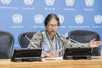 on 26 October 2017, at a press briefing at UN Headquarters in NY.
