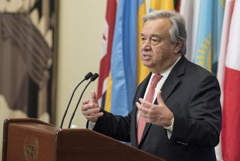United Nations Secretary-General António Guterres.
