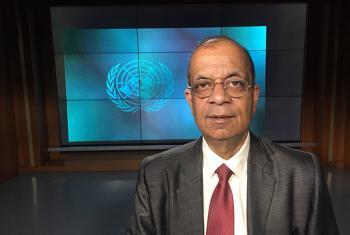 Atul Khare, the United Nations Under-Secretary-General for Field Support. UN News/Matt Wells