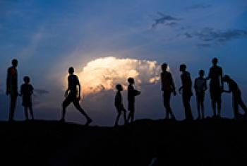 Children in the Protection of Civilians site in Bentiu, South Sudan. ©UNICEF/ UN070642/Phil Hatcher-Moore
