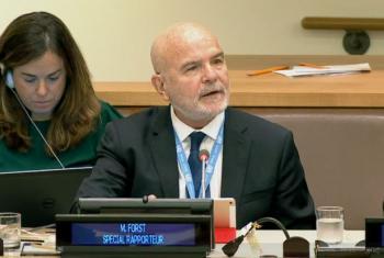 UN Headquarters. (screen grab)