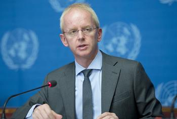 Adrian Edwards, Spokesperson of UNHCR during a press briefing in Geneva. (file)