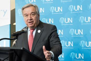 UN Secretary-General António Guterres.