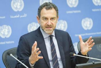 Toby Lanzer, Deputy Special Representative of the Secretary-General and acting head for the United Nations Assistance Mission in Afghanistan (UNAMA). (file)
