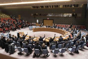 The Security Council Adopts Resolution on Humanitarian Cross-border Aid to Syria.