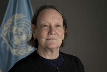 Portrait of United Nations advocate for the rights of victims of sexual exploitation and abuse.