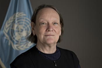 Jane Connors, UN advocate for the rights of victims of sexual exploitation and abuse.