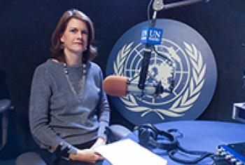 Lisa Doughten, chief of the United Nations Central Emergency Respose Fund (CERF), at UN Headquarters in New York. UN News/Maoqi Li