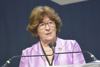 UN Secretary-General's Special Representative for International Migration, Louise Arbour. (file)