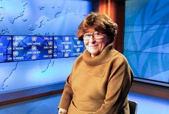 Louise Arbour, UN Special Representative for International Migration. UN News/Elizabeth Scaffidi