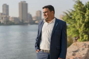 Omer Badokhon, winner of UNEP Young Champion of the Earth prize for West Asia.