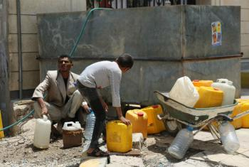 Millions of civilians are on the brink famine in Yemen where fuel, food and medicines are desperately needed, including in the capital Sana'a.