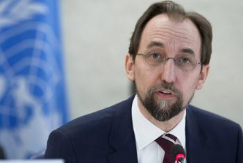 UN High Commissioner for Human Rights Zeid Ra'ad Al Hussein.