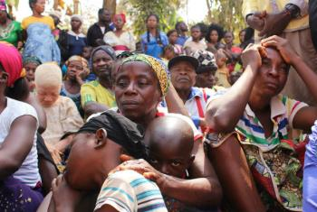 Cameroonian families seek refuge in Utanga, Obanliku, Nigeria, after fleeing insecurity in English-speaking parts of their homeland.