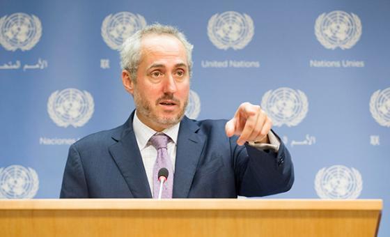 El portavoz del Secretario General de Naciones Unidas, Stephan Dujarric. Foto de archivo ONU.