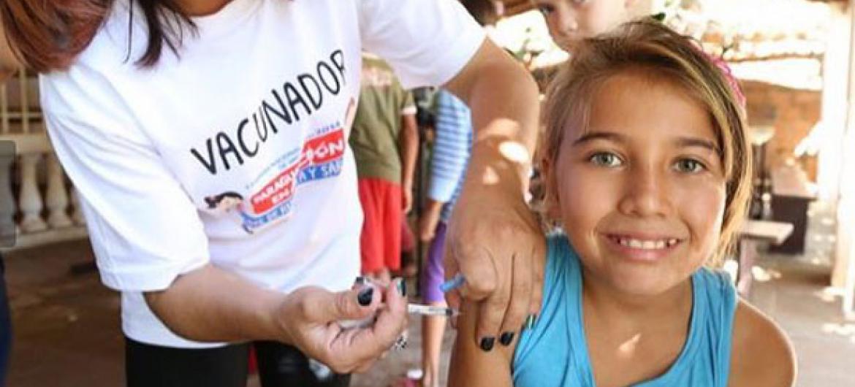 América, fue el primer continente del mundo declarado libre de sarampión el año 2016.
