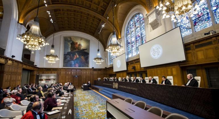 La Corte Internacional de Justicia (CIJ), con sede en La Haya, es el principal órgano judicial de Naciones Unidas. Foto: CIJ