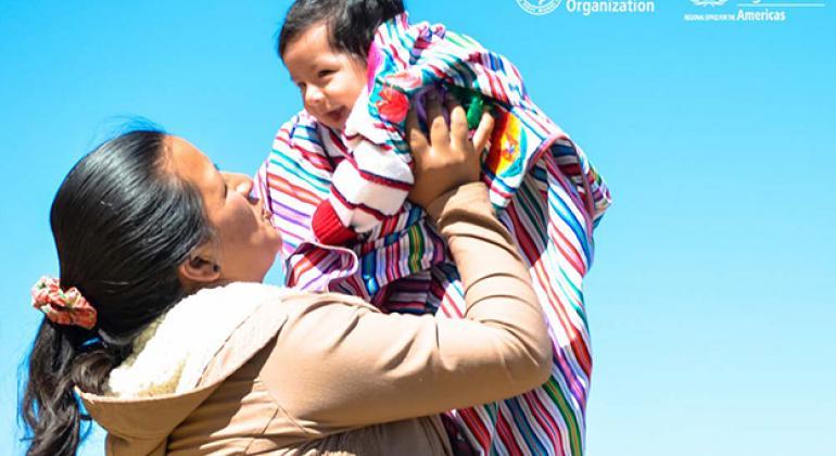 Estrategia para eliminar la transmisión materno infantil de la hepatitis B en Perú. Foto: OPS